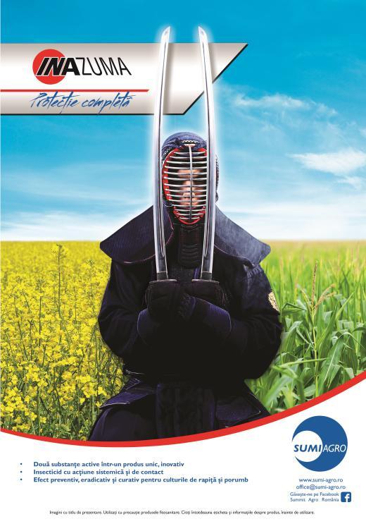 Noul Insecticid INAZUMA